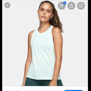 Outdoor Voices Eco Mesh Tank Top in Sage
